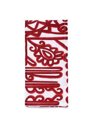 Main View - Click To Enlarge - LA DOUBLEJ - x Gallery Von Bartha Transylvania large napkin set – Parnaveg Cuore