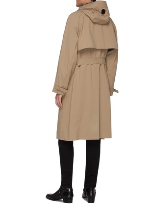 Back View - Click To Enlarge - MACKAGE - Jannik' Two-in-one removable hooded bib trench coat