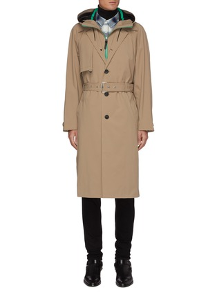 Main View - Click To Enlarge - MACKAGE - Jannik' Two-in-one removable hooded bib trench coat
