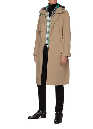 Figure View - Click To Enlarge - MACKAGE - Jannik' Two-in-one removable hooded bib trench coat