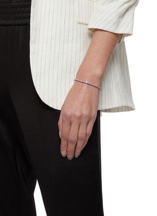 Figure View - Click To Enlarge - CZ BY KENNETH JAY LANE - Graduate Cubic Zirconia Shamballa Bracelet
