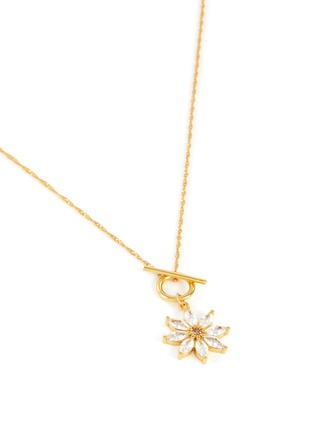 Detail View - Click To Enlarge - GIRLS CREW - 'DAISY' O Ring Closure Necklace