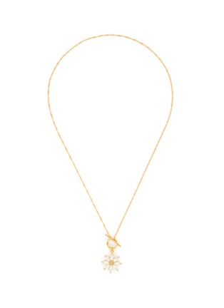 Main View - Click To Enlarge - GIRLS CREW - 'DAISY' O Ring Closure Necklace