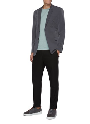 Figure View - Click To Enlarge - THEORY - Zaine' elastic waist jogging pants
