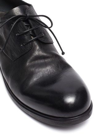 Detail View - Click To Enlarge - MARSÈLL - Leather derby shoes