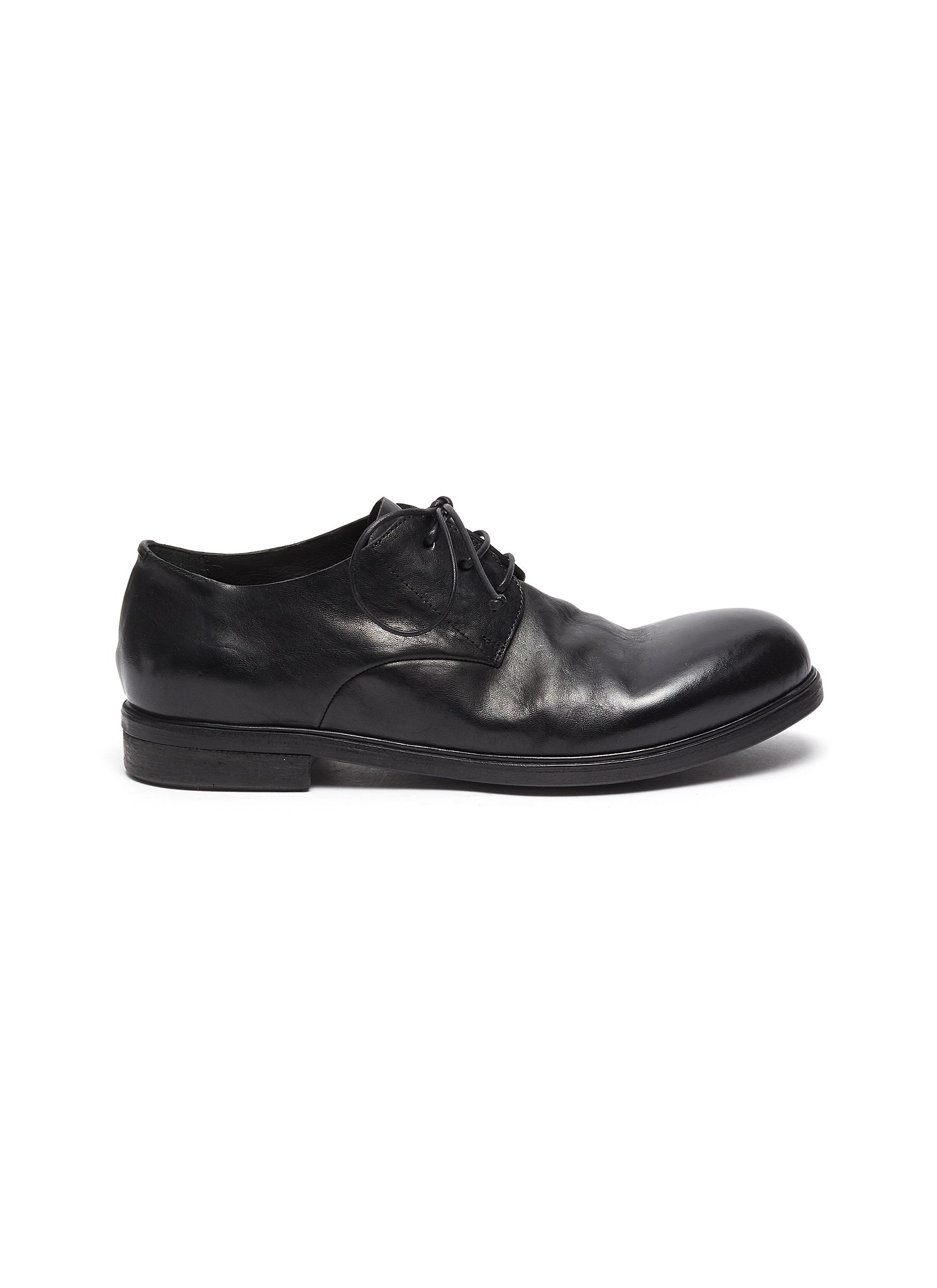 Leather derby shoes - MARSÈLL - Modalova