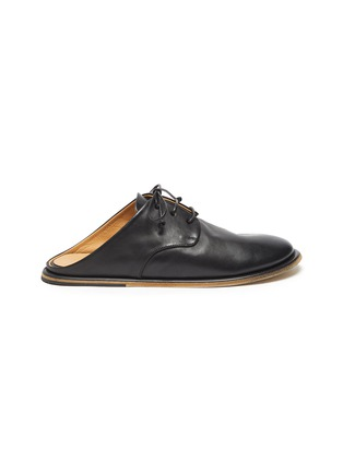Main View - Click To Enlarge - MARSÈLL - Guardella' Leather Derby Mules