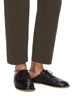 Figure View - Click To Enlarge - MARSÈLL - Guardella' Leather Derby Mules