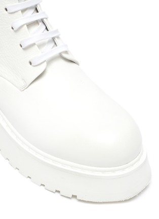 Detail View - Click To Enlarge - MARSÈLL - Micarro' Leather Combat Boots