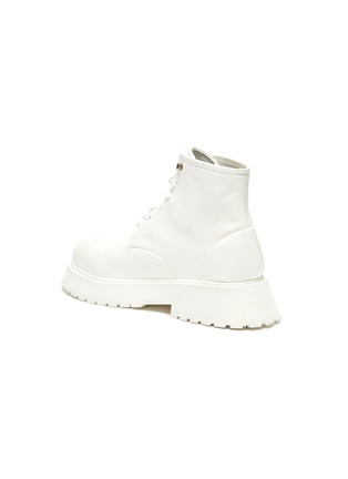 - MARSÈLL - Micarro' Leather Combat Boots