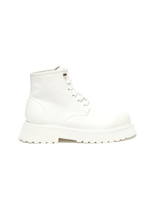 Main View - Click To Enlarge - MARSÈLL - Micarro' Leather Combat Boots
