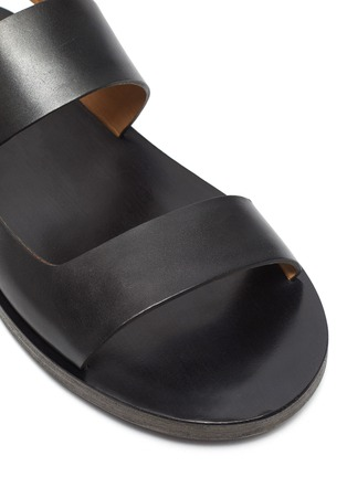 Detail View - Click To Enlarge - MARSÈLL - 'Sandellone' Double Strap Leather Sandals