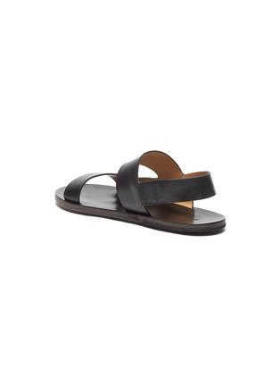 - MARSÈLL - 'Sandellone' Double Strap Leather Sandals