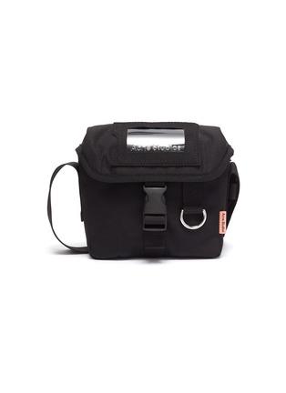 Main View - Click To Enlarge - ACNE STUDIOS - Release Buckle Closure Mini Crossbody Messenger Bag