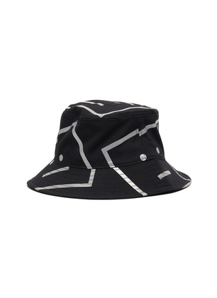 Main View - Click To Enlarge - ACNE STUDIOS - Face motif bucket hat