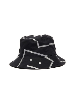 Figure View - Click To Enlarge - ACNE STUDIOS - Face motif bucket hat
