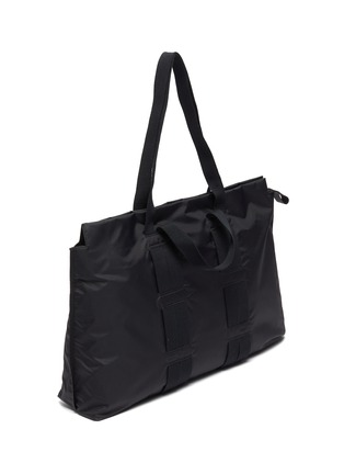 Detail View - Click To Enlarge - ACNE STUDIOS - Metal Face Plaque Tote