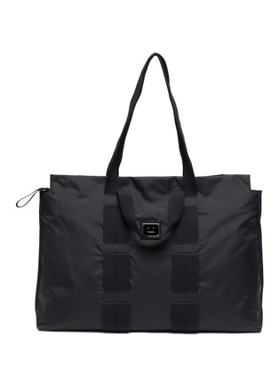 Main View - Click To Enlarge - ACNE STUDIOS - Metal Face Plaque Tote
