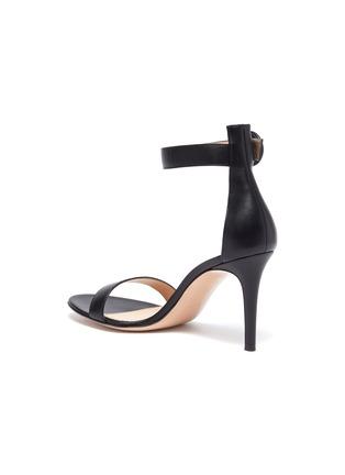 - GIANVITO ROSSI - 'Portofino 85' Ankle Strap Heeled Sandals