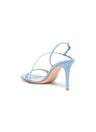 - GIANVITO ROSSI - 'Manhattan 85' Asymmetric Strap Heeled Sandals