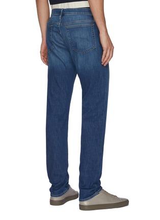 Back View - Click To Enlarge - FRAME DENIM - 'L'Homme Slim' Comfort Stretch Jeans