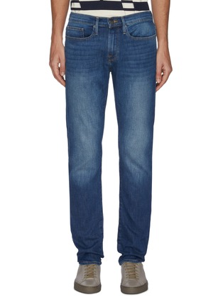 Main View - Click To Enlarge - FRAME DENIM - 'L'Homme Slim' Comfort Stretch Jeans