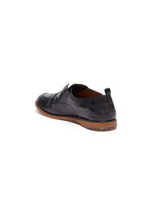 - ANTONIO MAURIZI - 'TODI' Laceless Leather Derby Shoes