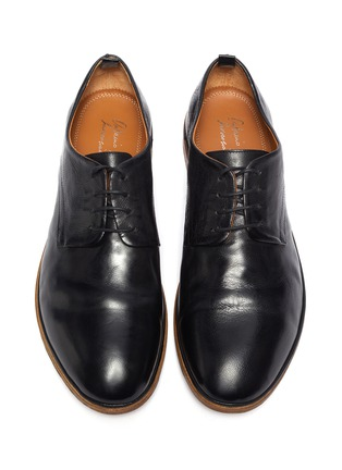 Detail View - Click To Enlarge - ANTONIO MAURIZI - 'Todi' leather derby shoes