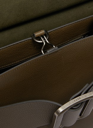 Detail View - Click To Enlarge - BOYY - Karl Soft' oversized buckle large top handle bag