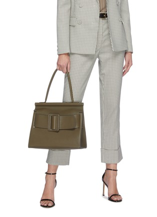 Figure View - Click To Enlarge - BOYY - Karl Soft' oversized buckle large top handle bag