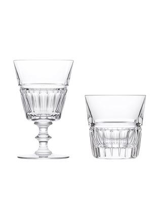 Main View - Click To Enlarge - SAINT-LOUIS CRYSTAL - Pas de deux duo glass set – Marie Amelia & Louis-Philippe