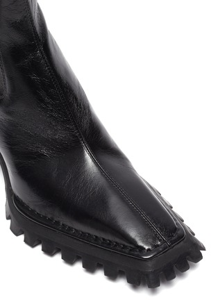 Detail View - Click To Enlarge - ALEXANDERWANG - PARKER' Knee High Leather Boots