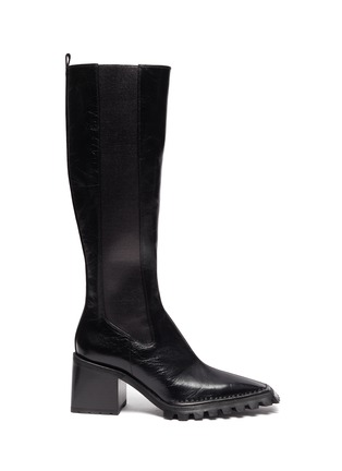 Main View - Click To Enlarge - ALEXANDERWANG - PARKER' Knee High Leather Boots