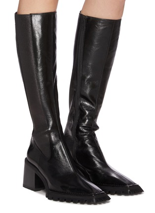 Figure View - Click To Enlarge - ALEXANDERWANG - PARKER' Knee High Leather Boots