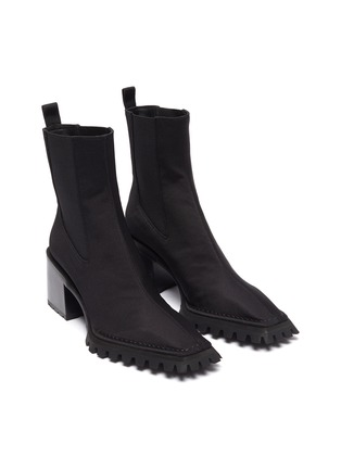 Detail View - Click To Enlarge - ALEXANDERWANG - 'PARKER' Nylon Ankle Boots