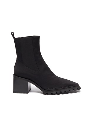 Main View - Click To Enlarge - ALEXANDERWANG - 'PARKER' Nylon Ankle Boots