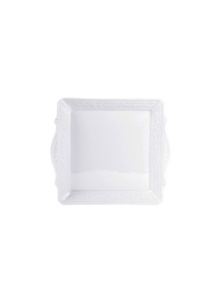 Main View - Click To Enlarge - BERNARDAUD - Louvre Porcelain Square Tray