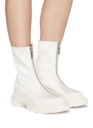 Figure View - Click To Enlarge - BOTH - 'Gao' zip-up leather ankle boots