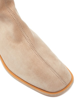 Detail View - Click To Enlarge - ACNE STUDIOS - Block Heel Suede Ankle Boots
