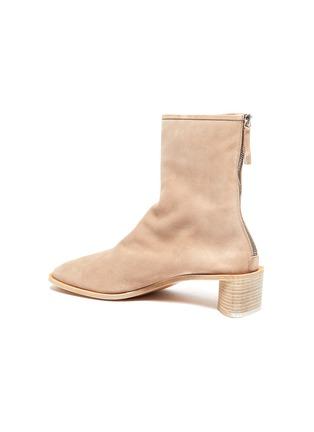 - ACNE STUDIOS - Block Heel Suede Ankle Boots