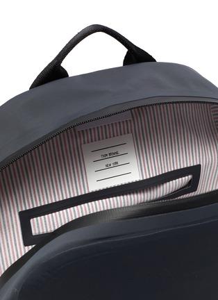 Detail View - Click To Enlarge - THOM BROWNE - Welded waterproof nylon backpack
