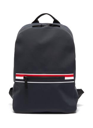 Main View - Click To Enlarge - THOM BROWNE - Welded waterproof nylon backpack