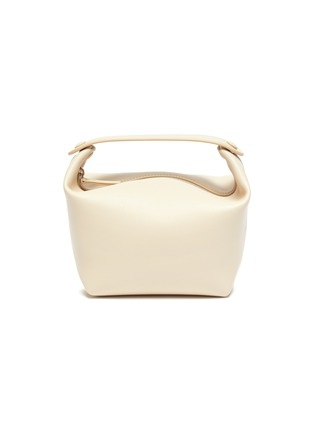 Main View - Click To Enlarge - THE ROW - Les Bains' top handle leather bag