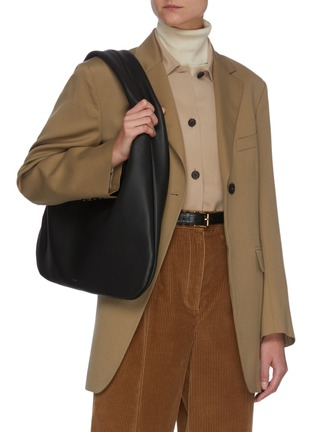 Figure View - Click To Enlarge - THE ROW - 'EVERYDAY' GRAINED LEATHER SHOULDER BAG