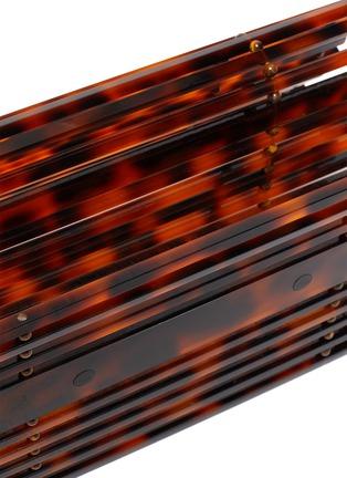 Detail View - Click To Enlarge - CULT GAIA - 'Sylva' Chain Handle Acrylic Cage Shoulder Bag