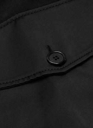 - JW ANDERSON - Asymmetric Drape Hem Midi Cargo Skirt