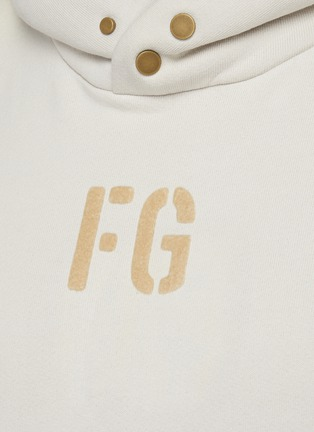- FEAR OF GOD - Fleece Logo Hoodie