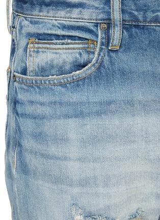 - FEAR OF GOD - Distressed Detail Whiskered Denim Jeans
