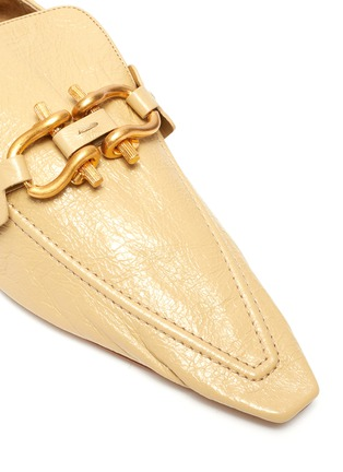 Detail View - Click To Enlarge - BOTTEGA VENETA - 'THE MADAME MOCASSINS' Horsebit Leather Loafers