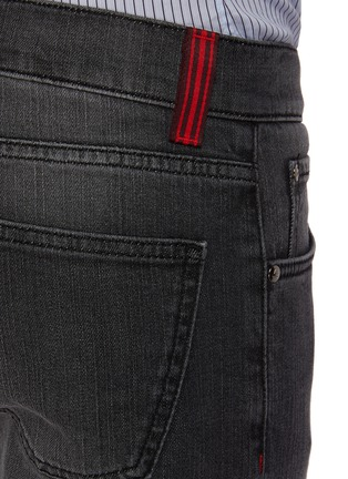 - ISAIA - Slim fit mid wash jeans